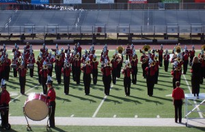 Band takes best in class at Cabot marching competition