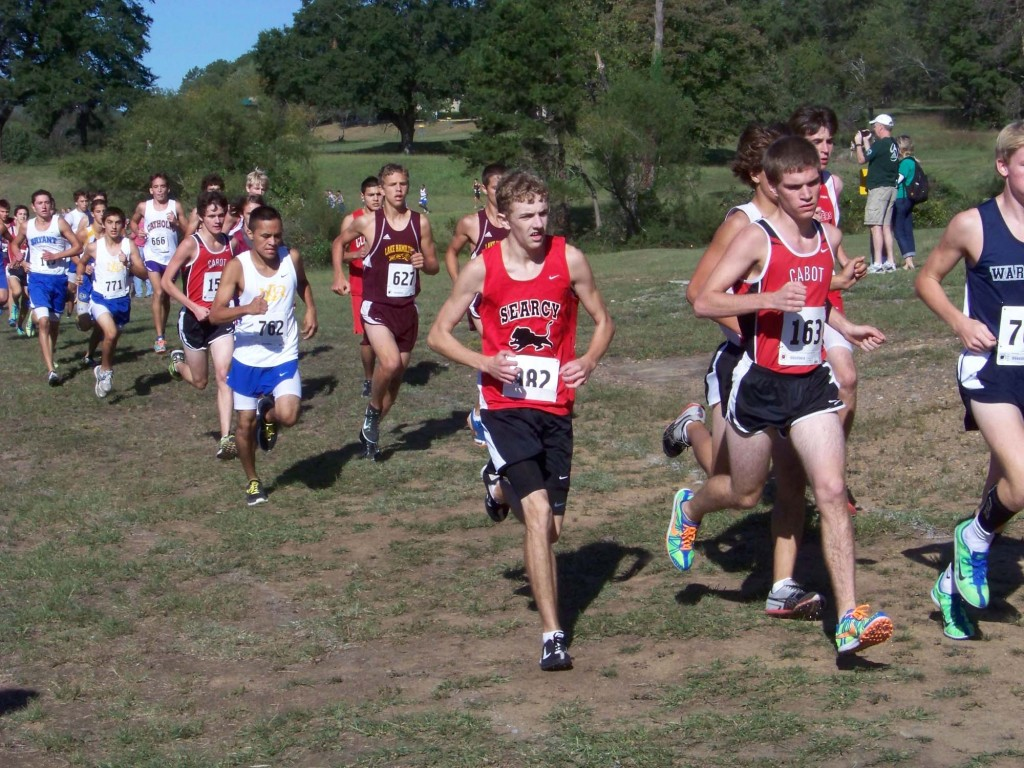 Searcy cross-country team runs hard at meets