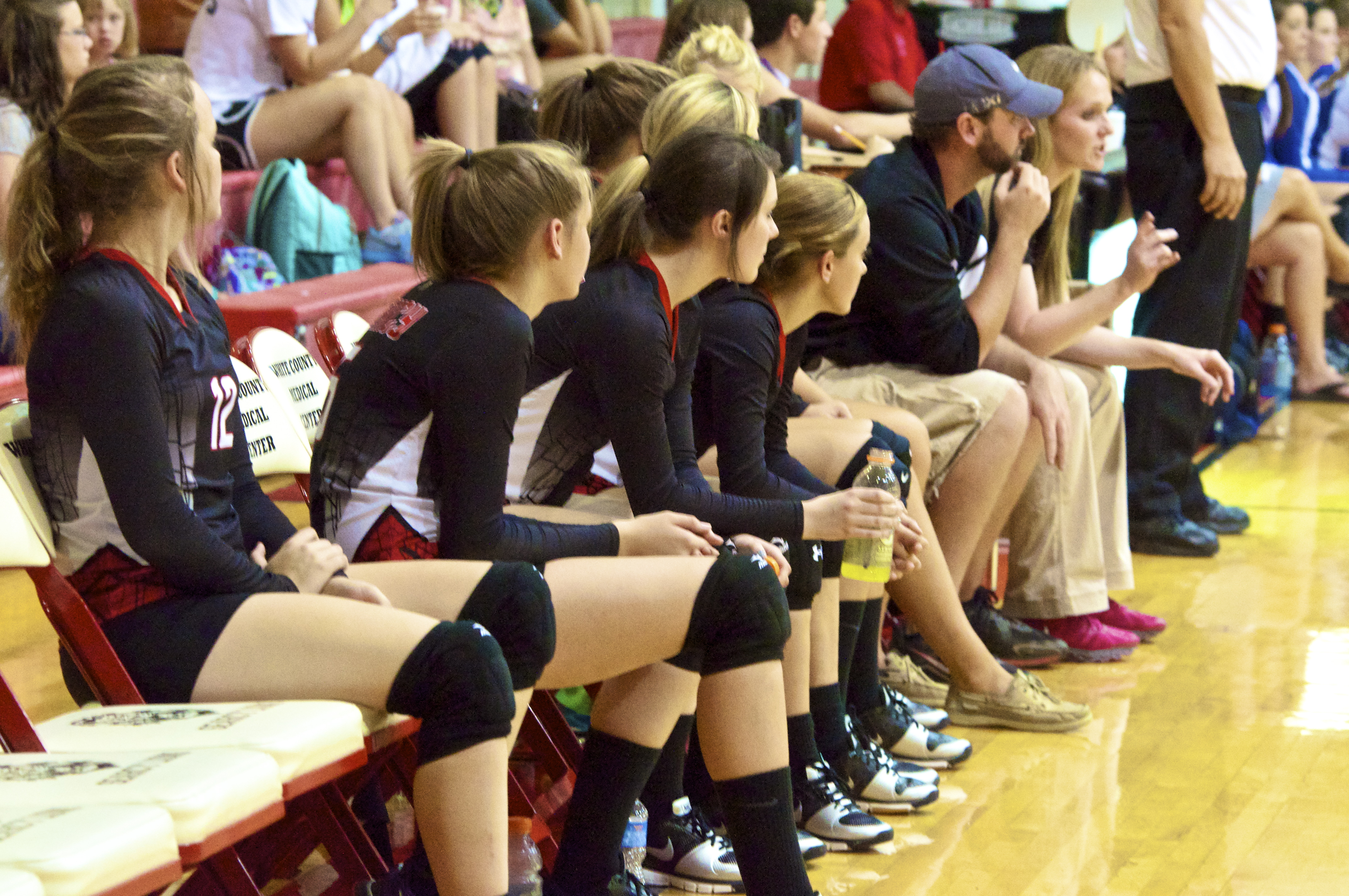 Senior volleyball player likes leadership role