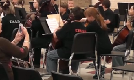 Orchestra participates in all region tryouts