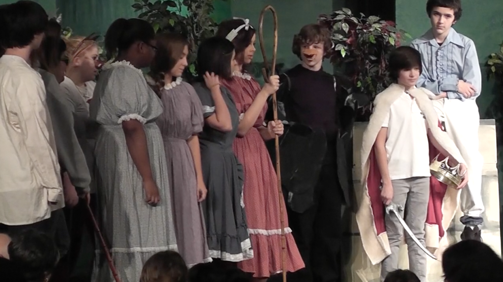 Drama students perform at Dinner Theater to raise money