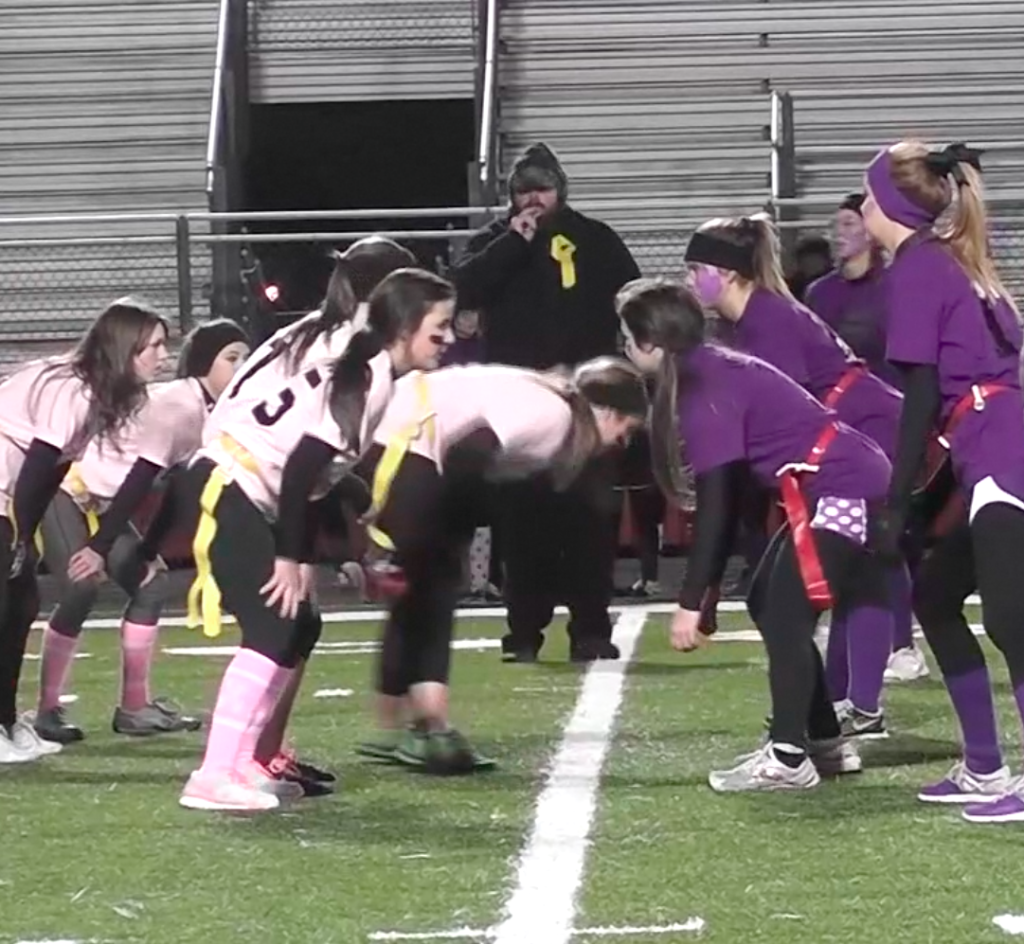 Powderpuff game raises money for Elliott Foundation