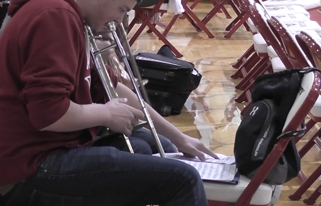 Band studenet feels stress of All-Region tryouts
