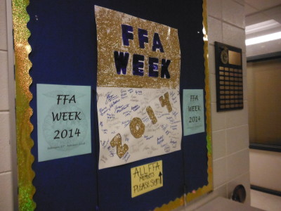 FFA students participate, celebrate week of fun