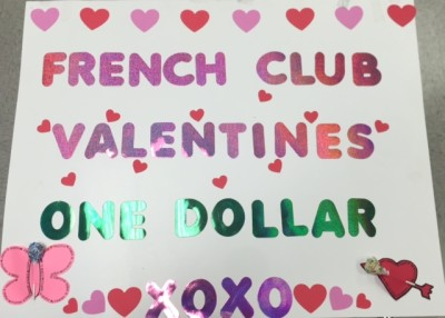 French Club Valentines