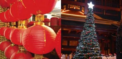 Christmas and Spring Festival