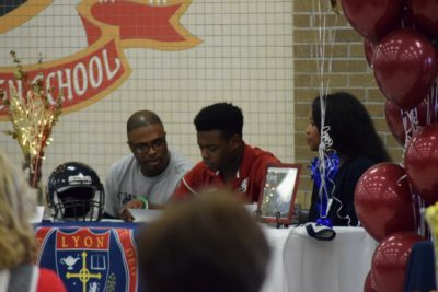 Searcy Lion Athlete Signs With Local College to Further Football Career