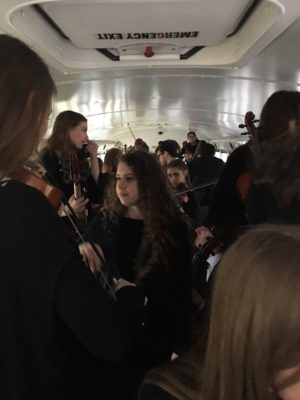 Orchestra took part in the Regional Concert Contest in West Memphis