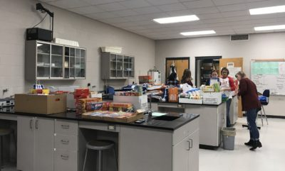Annual NHS Food Drive Starting New Tradition at Searcy