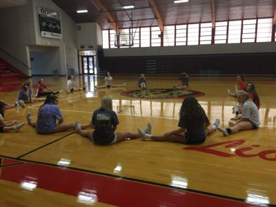Cheerleaders and Lion Steppers Host Annual Tryout Week at SHS