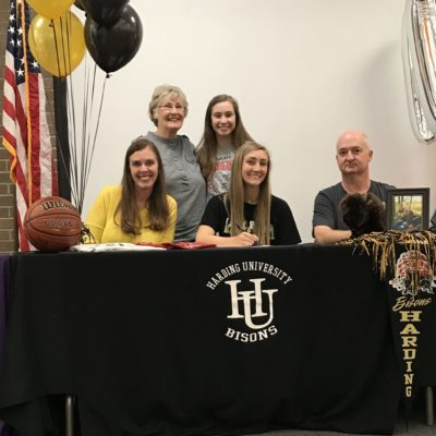 Searcy Lady Lion Basketball Player Signs with Harding University