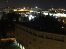 Nightime in Jerusalem