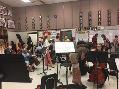 """Solo and Ensemble"" Encouraged Students and Enhanced their Self-Confidence"