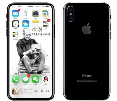 Possible design of the new iPhone 8