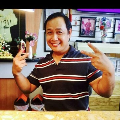 The owner of the nail salon, Henry Nguyen. Picture provided by Henry Nguyen.
