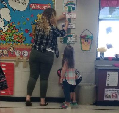 SHS teens learn life skills from kindergartners