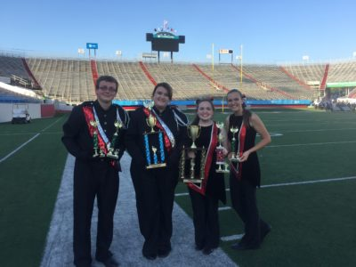 The SHS Band's hard work paid off after their various awards