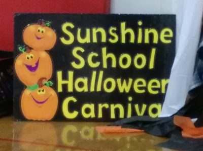 Searcy Sunshine School enjoys some spooky fun and their Principal goes out with a boom!