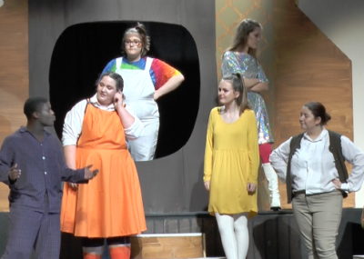 "SHS students get vocal, performing the play ""Schoolhouse Rock LIVE: Jr."""
