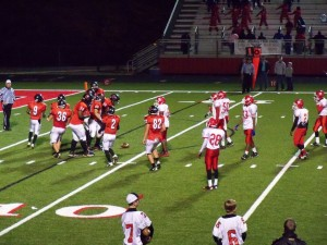 Searcy Lions win against LR MeClellan; 41-14