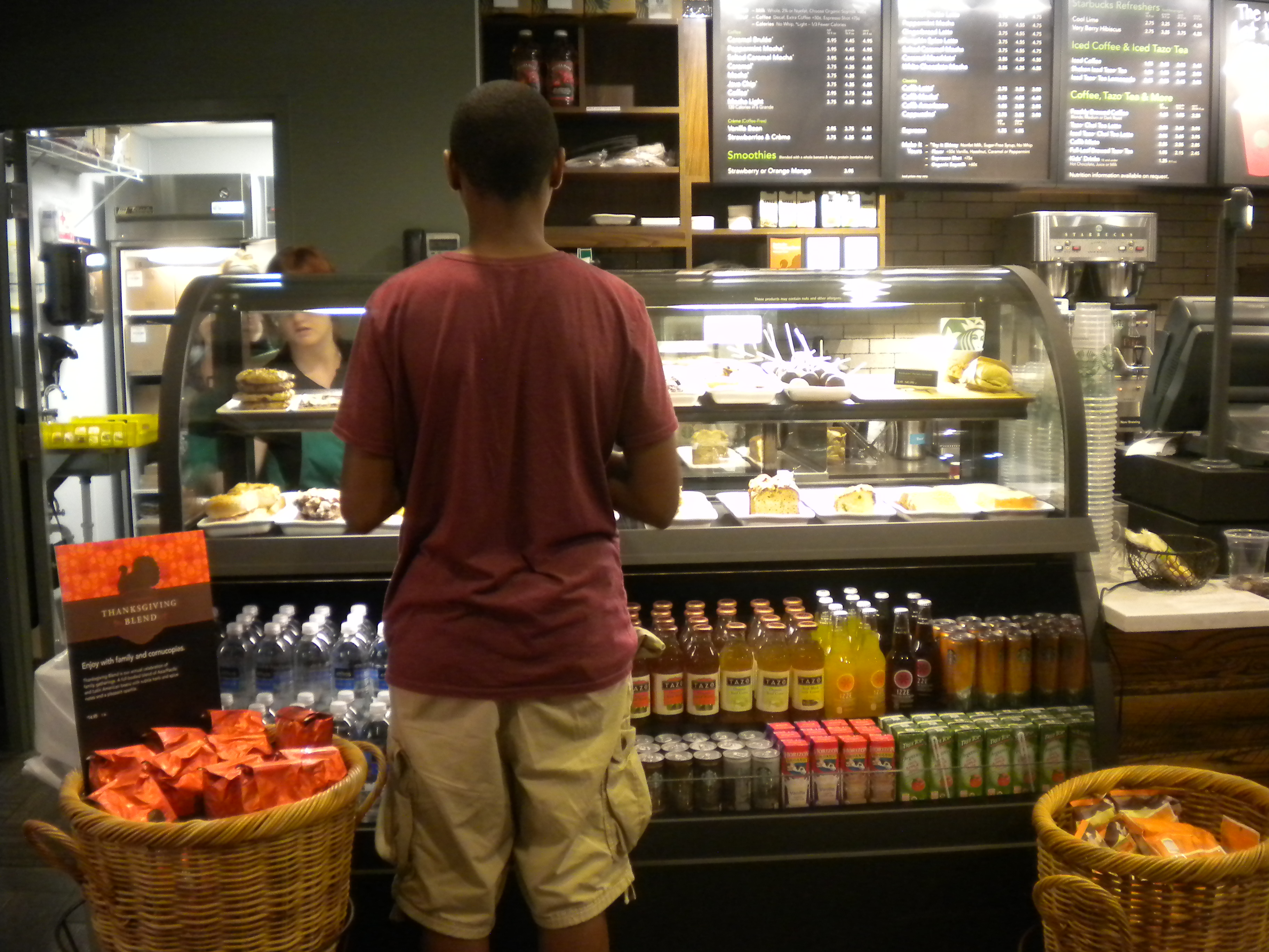 Starbucks creates competition for community coffee shops
