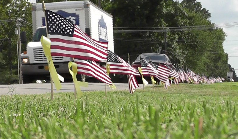 Searcy firemen remember fallen heroes
