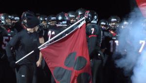 Senior night of season features fans in black
