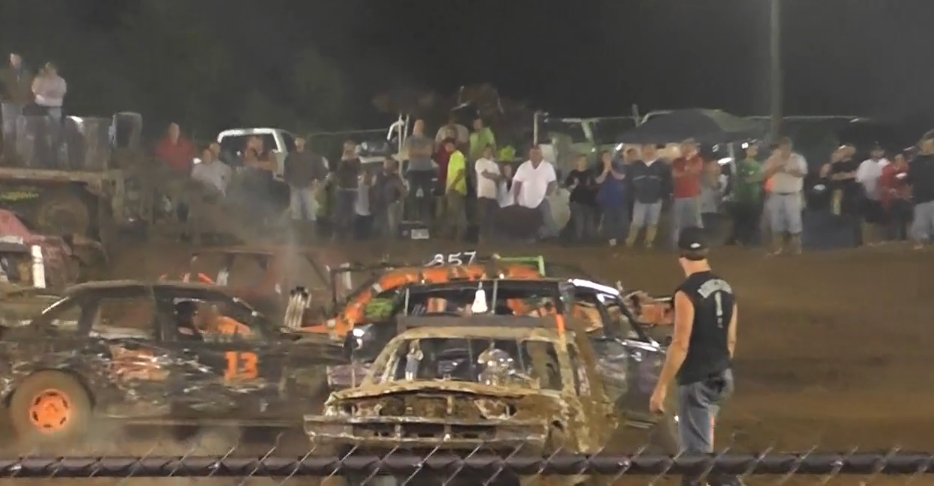 Demolition derby crashes to end