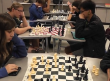 Chess Club meets for competition, fun