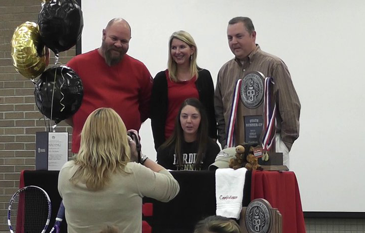 Butler signs to play tennis at Harding