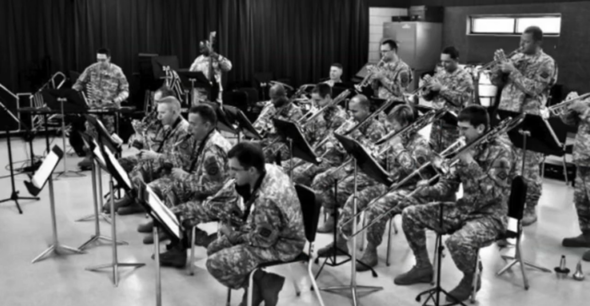 Luzzi serves country as member of Army Band