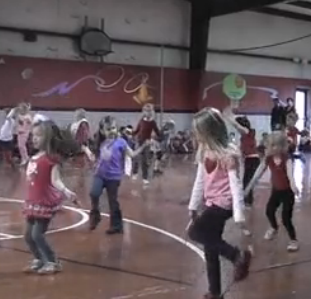 Kids jump-rope for heart health charity