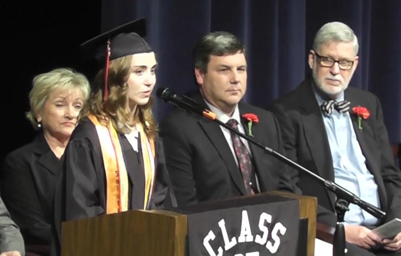 Seniors graduate at 2013 commencement