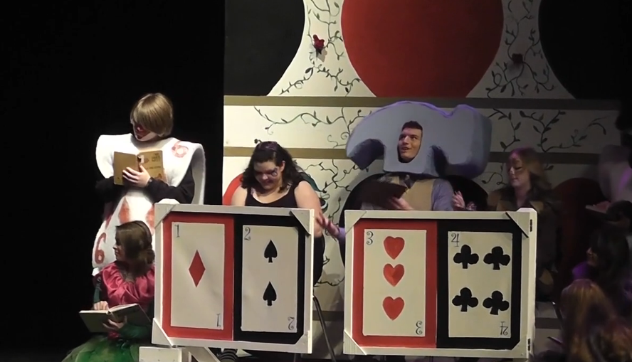 Alice in Wonderland comes to life in play