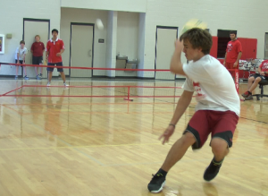 PE students compete in pickle ball tournament