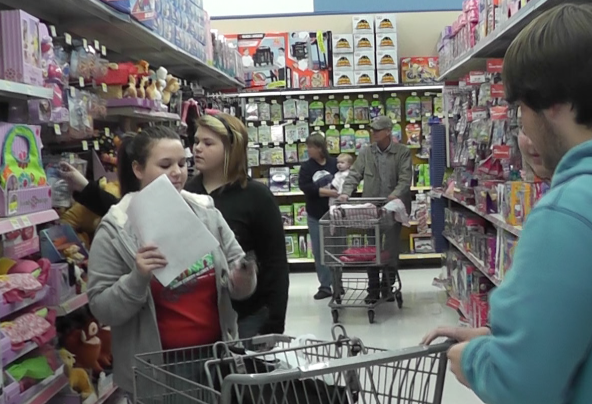School club fulfills Christmas lists of less fortunate