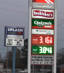 High gas prices frustrate locals
