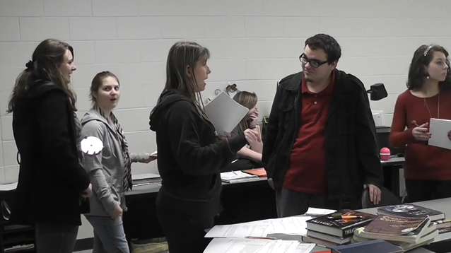 Searcy High School host first drama tournament