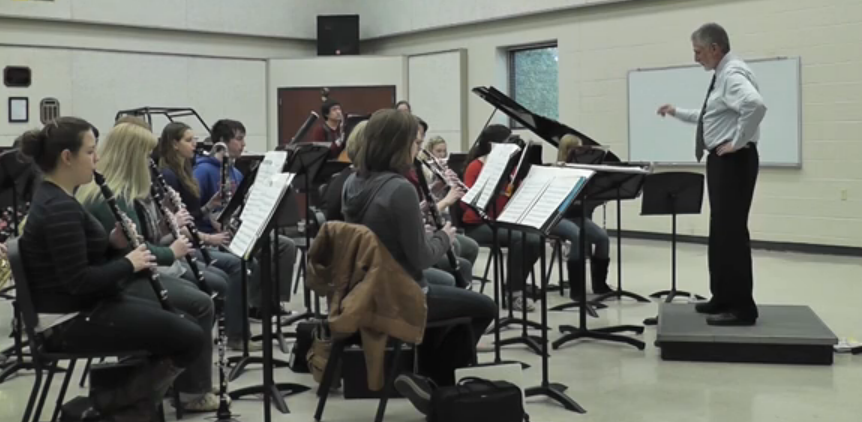 Harding band provides home for musicians