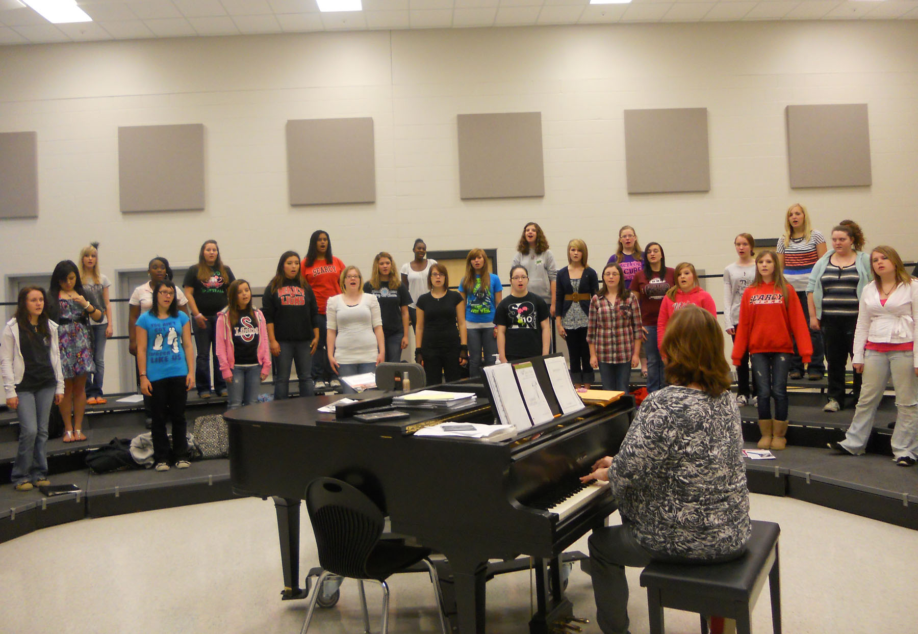Choir prepares for All Region tryouts