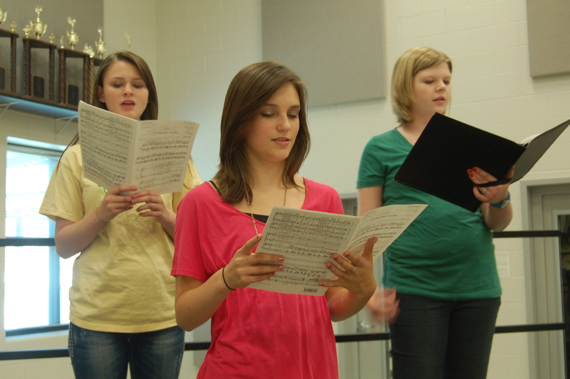 Choir preparing for all-region tryouts